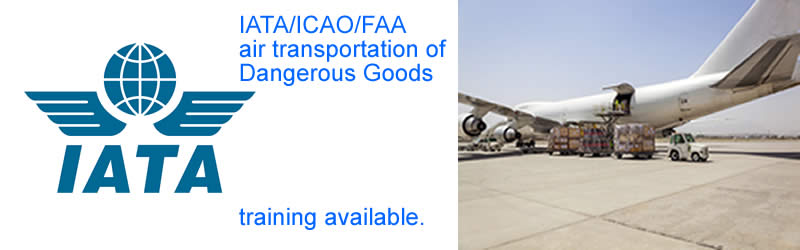 GSI Training Services offers classroom DGR training required for shipping dangerous goods by air